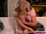 Goldie exposed Rachels nipples