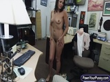 Customers wife fucked at the pawnshop 3