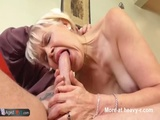 Granny Swallowing Young Cock - Old Videos
