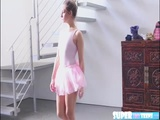 Short and brunette Cassidy Klein gets fucked by her ballet instructor