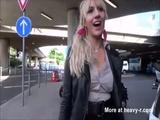 Cum Walker On Airport - Blonde Videos