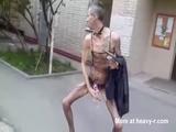 Freak Wanking In Public - Public Videos