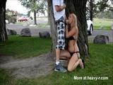 Fucking Hot Blonde Teen In Public Park - Blonde Videos