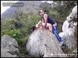 Brother And Sister Have A Quickie While Mountain Climbing - Hill Videos