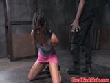 Female sub sluts tied up and punished