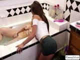 Milf Mindi gets seduced by teen Carmen