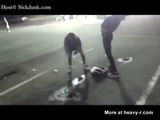 Drunk Bitch Pissing In Middle Of Parking Lot - Shameless Videos