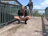 Blonde Pissing In Public - Piss Videos