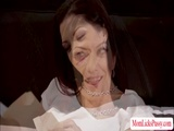 Hot MILF Lynn gets licked by her aide