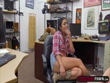 Naughty Lexie Banderas fucked in the ass for money