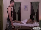 Great ass shemale fucks by a hot masseur