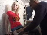 Aline cheats on her boyfriend with black cock
