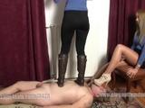 2 girl trample