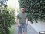 Busty Jogger's Hardcore Anal Fuck