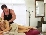 blair williams massage fuck threesome HOT