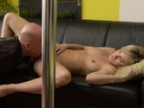Teen Babysitter Would You Pole-dance On My Dick?