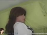 Sex doll OPEN THE BOX VIDEO, cute brunette love doll