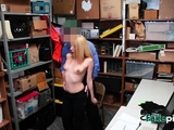 Hot Blonde Is Banged In Doggystyle By Kinky Investigator