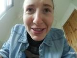 Sophia Smith Denim Fetish and Pee in Messy Bathroom!