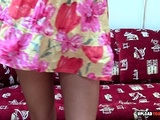 Astonishing Brunette Uses A Dildo To Masturbate