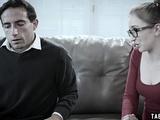 Shy Teen Seeks Out Stranger To Choke Her During Fucking