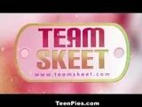 TeenPies - Curvy Ebony Creampied In The Bathroom