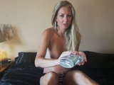 Hot Milf Oiled Up and Squirting Like a Fountain