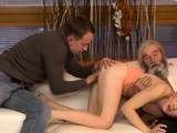Old Man Fuck Big Tits Girl And Granny Fingering Hairy