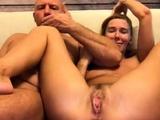 Amateur Husband Masturbates Pussy Of His Wife On Webcam