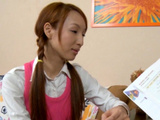 Asian Teenager Drilled