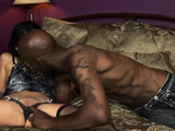 Black Dick Makes Lina Moan Loudly