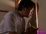 Captivating Asian Older Gets Her Nice Marangos Played With