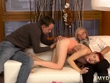 Daddy And Ally's Daughter In Car Unexpected Practice With