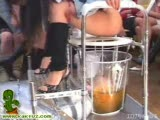 A bunch of pissing chinese girls