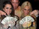 Halloween sex girls fucking guy for money